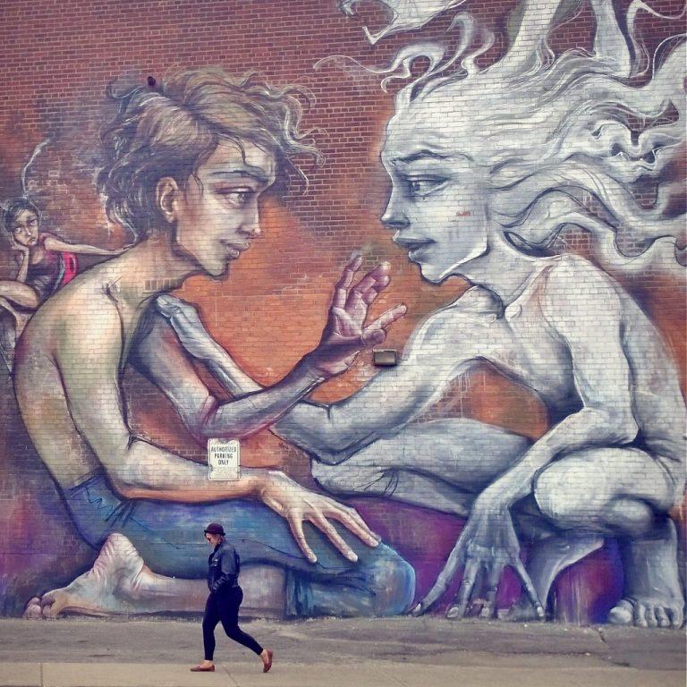 Herakut Mural Toronto