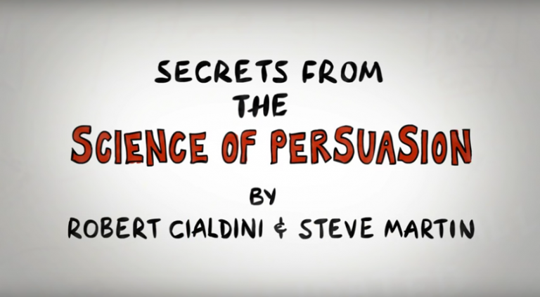 The Science of Persuasion [VIDEO]