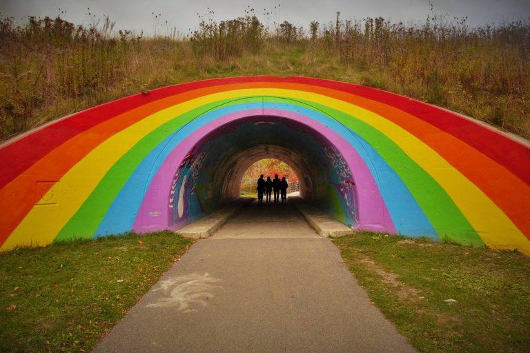 DVP Rainbow Tunnel