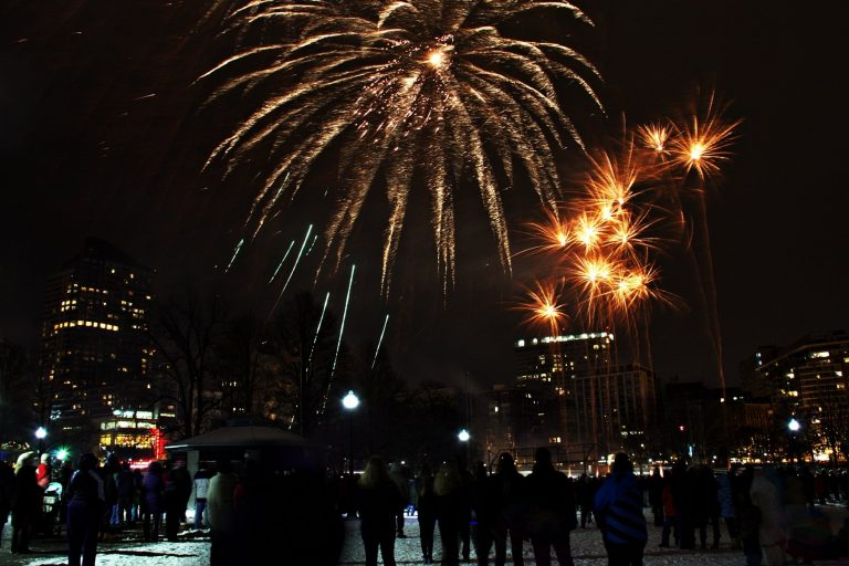Ringing in the New Year in Boston