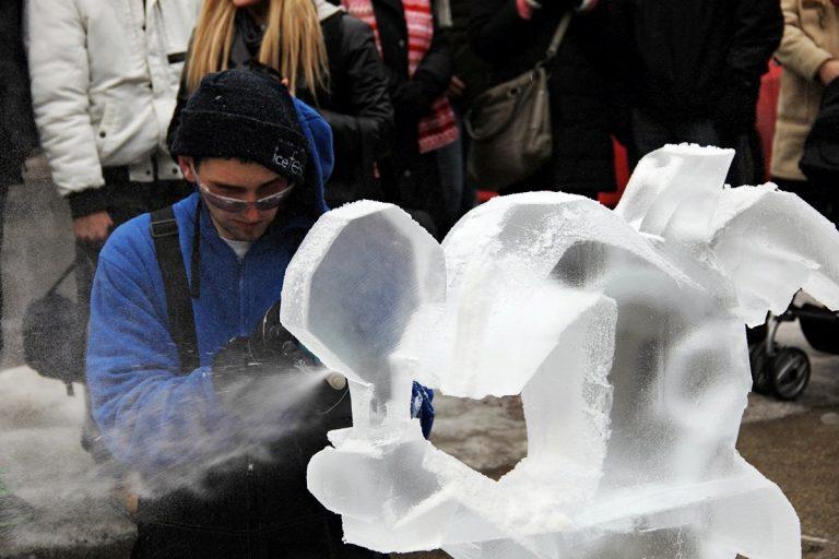 Bloor-Yorkville Icefest 2013