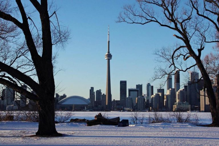 Toronto Islands Winterscapes