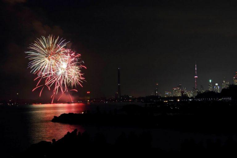 Victoria Day Fireworks 2014