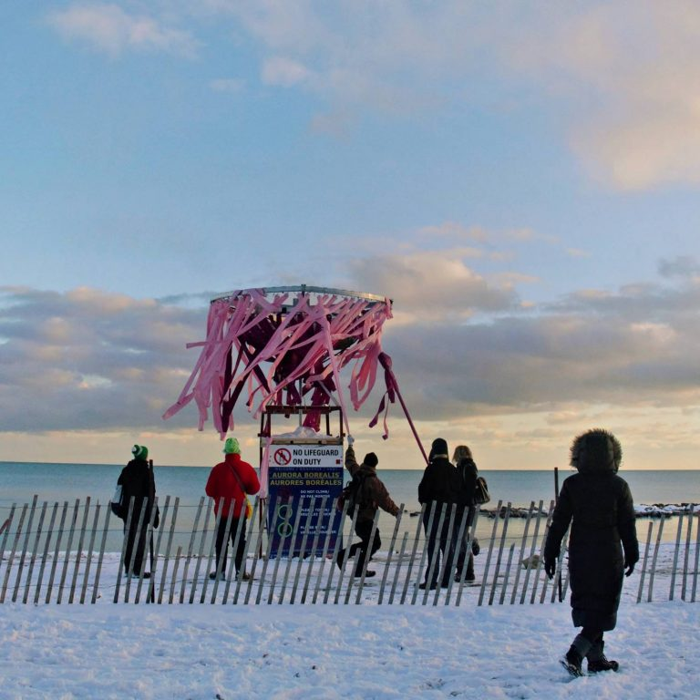 Winter Stations in the Toronto Beaches